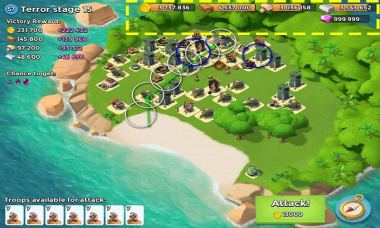 Download hacked Boom Beach [mod: unlimited diamonds and