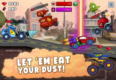 Download Car Eats Car 2 Hacked For Android
