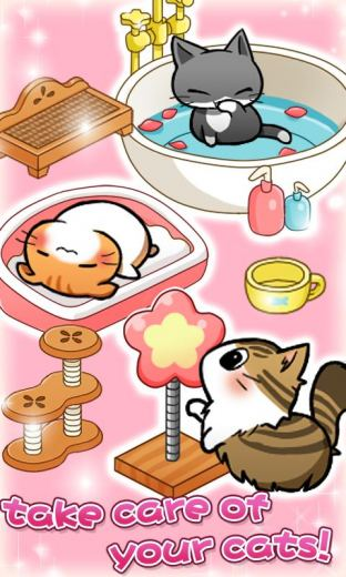 Cat Room - Cute Cat Games Mod [Unlimited money] for android download